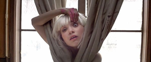 The disturbing message behind sias videos chandelier elastic flashing one eye indicating that this is about the mk system aloadofball