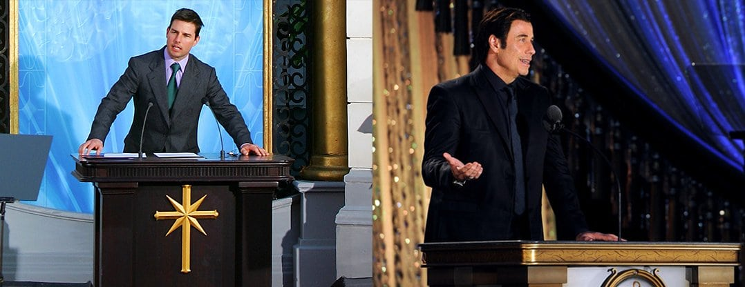 How Tom Cruise and John Travolta are Controlled by Scientology According to New Documentary
