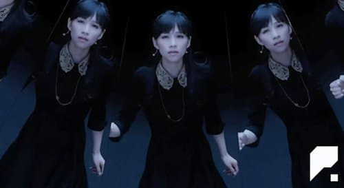 Mirror reflections are seen throughout the video representing the fragmentation of the slave's personality into several alter personas.