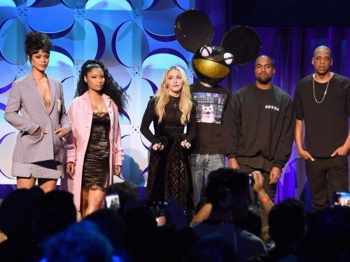 The weird, awkward star-studded conference promoting Tidal.