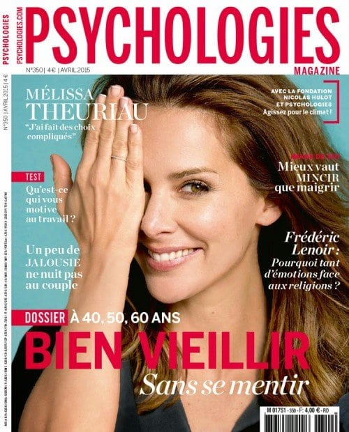 The sign is even on the cover of a random magazine on psychology.