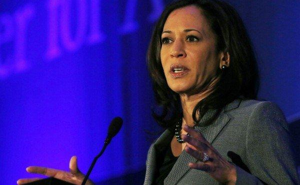 State Attorney General Kamala Harris.