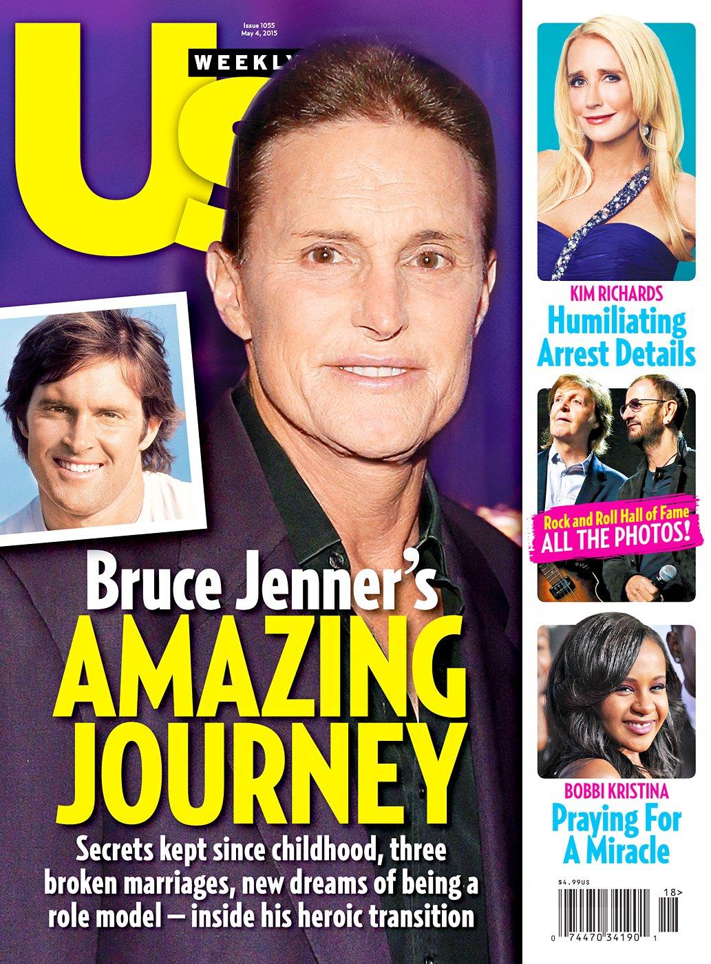 "US magazine going inside his ""heroic"" transition. Heroic."