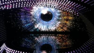 Throughout the years, I posted  pictures of several stages of award shows and music competitions that display a gigantic eye. There is no coincidence there, it is a code most people do not understand ... although it is literally staring at them.