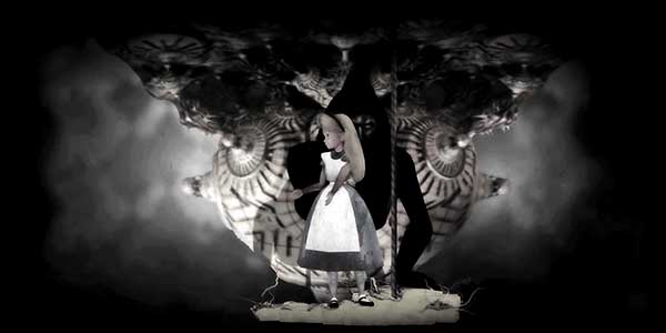 "Then Alice in Wonderland appears. This fairytale is used by MK handlers to program slaves as they are encouraged to ""follow the white rabbit through the looking glass"" towards total dissociation."