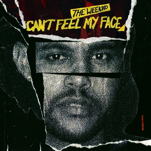 The single cover of Can't Feel my Face features The Weeknd's face cut in several fragments. Industry slaves get their persona split through MK programming. Maybe that is why he cannot feel his face.