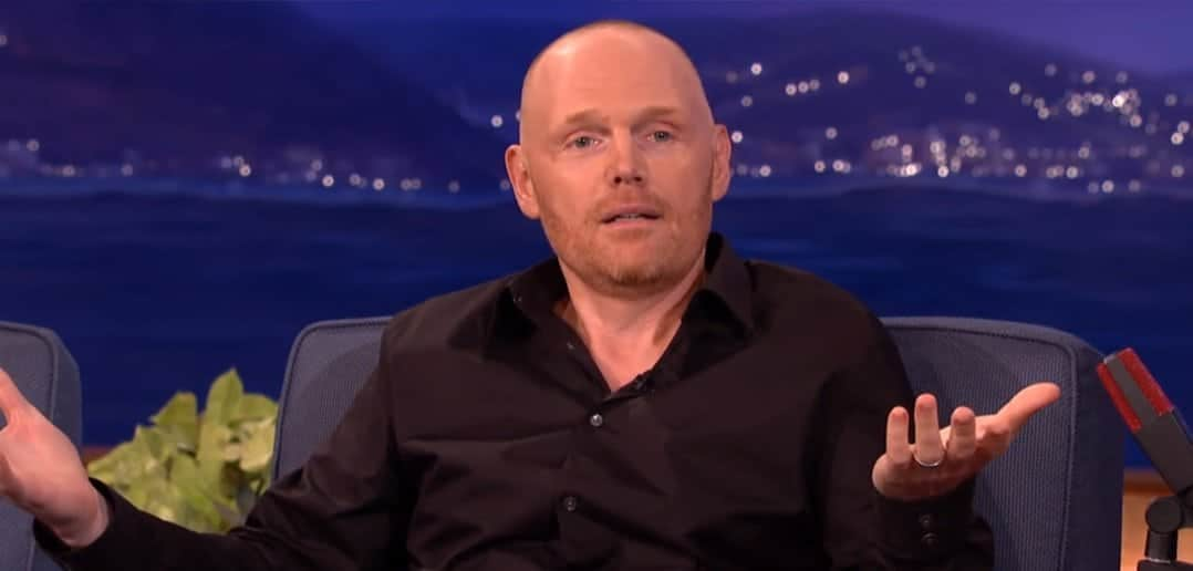 Bill Burr Talks Illuminati on Conan (video)