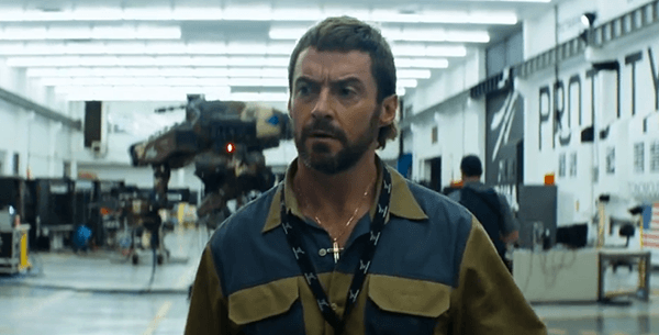 Vincent Moore, CHAPPiE's nemesis wears cross pendant, indicating that he's Christian.