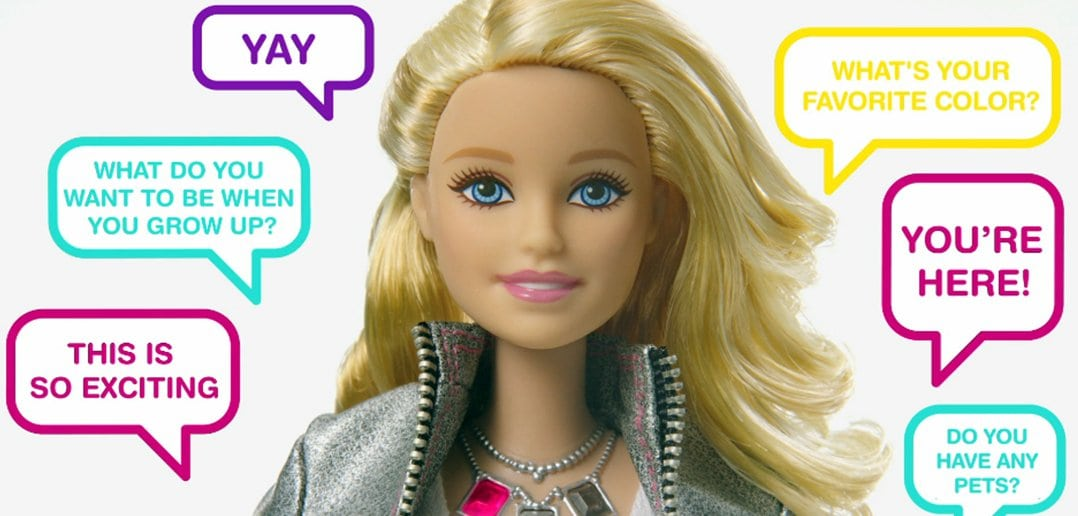 """Hello Barbie"", a New Doll With Big Brother-ish Capabilities"