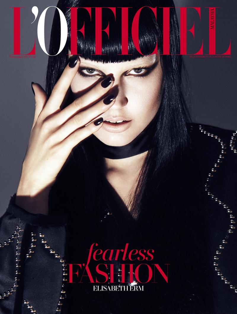 The cover of L'Officiel Malaysia feature the sign as well.