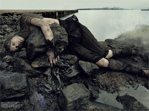 """Water Oil"", Vogue Italia, 2011"