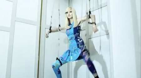 In his Versace For H&M video, he clearly depicts models as MK puppets controlled by the a ruthless elite.