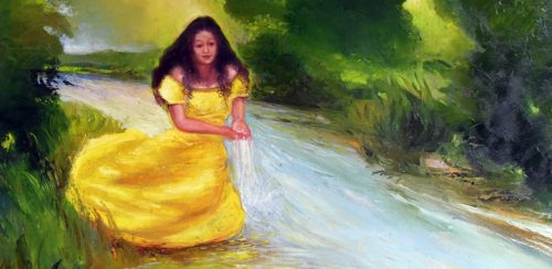 A classic depicting of Oshun.