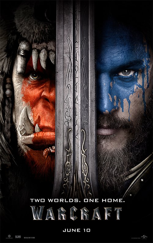 Two dudes. One eye. Warcraft.