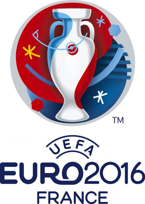 This is the logo of Euro 2016. How many 6-pointed stars do you see? 3. 666.