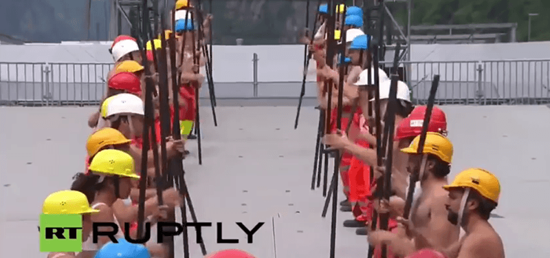 The Opening Ceremony of the World's Largest Tunnel Was a Bizarre Occult Ritual