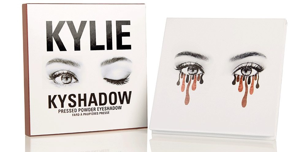 Kylie Jenner's makeup thing = One-Eye sign,