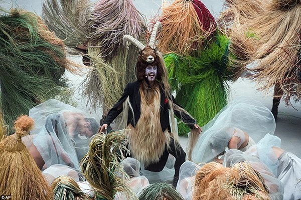 Mock Human Sacrifice Ritual Caught on Video at CERN (video)