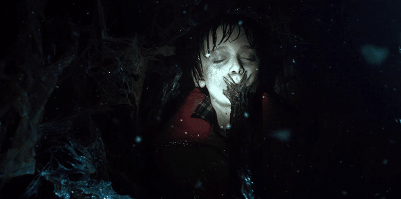 Trapped the Upside Down, Will Byers is progressively being taken over by a disgusting thing penetrating his body. Another child being destroyed by the MK system.