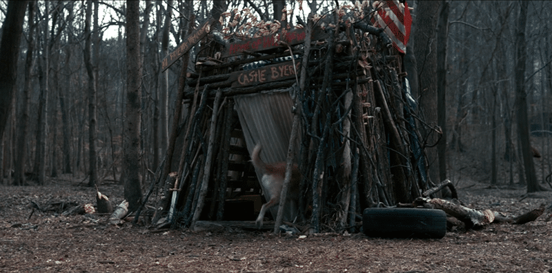 Will Byers went to Castle Byers - a small shed he built - to hide. It is another representation of a character's core personality.