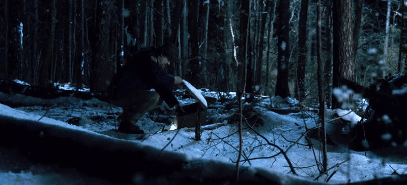 At the end of the season, Hoppers brings Eggo waffles (Eleven's favorite) into the woods. Did he leave that for 11, knowing that she is back in the Upside Down? Or is it an offering to a dead deity?