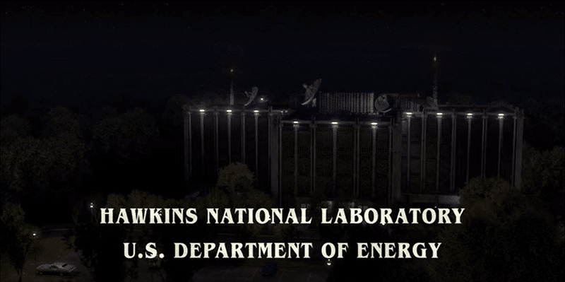 The MK programming site and the gateway to the 'Upside Down' is located in a National Labratory of the U.S. Department of Energy.