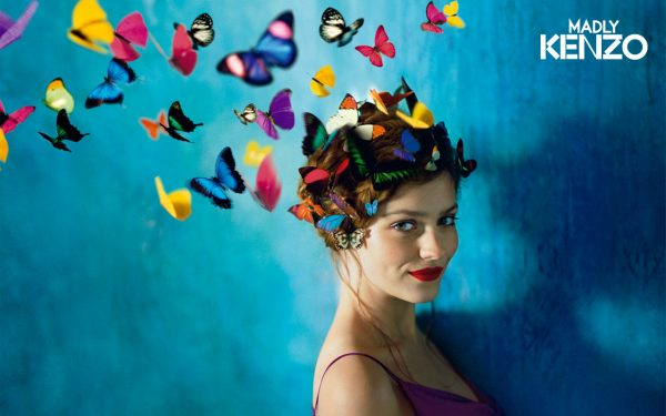 A head full of butterflies = Mind taken over by Monarch programming.