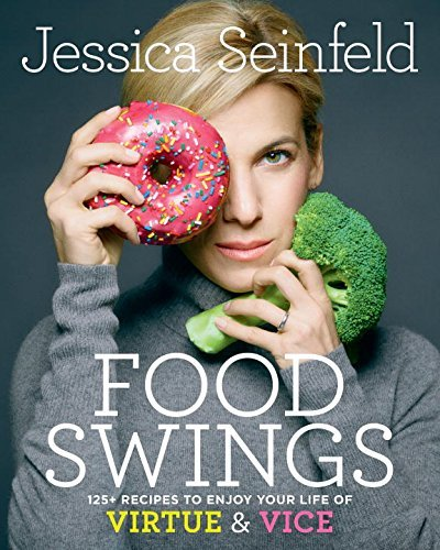 This is the cover of Jessica Seinfeld's cookbook. Really? Does this sign have to be on a cookbook? Yes it does.