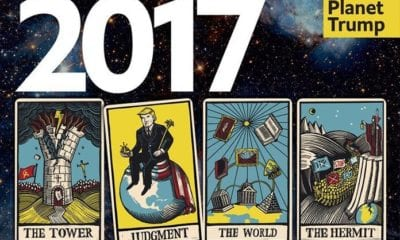 """leadeconomist2 The Economist's """"The World in 2017"""" Makes Grim Predictions Using Cryptic Tarot Cards"""