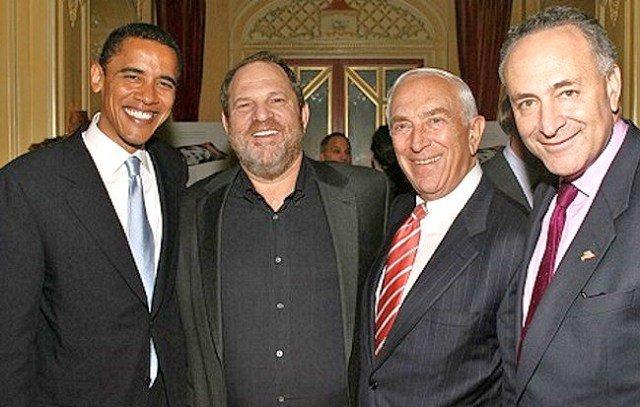 harvey weinstein chuck schumer barack obama The (Authorized) Downfall of Harvey Weinstein