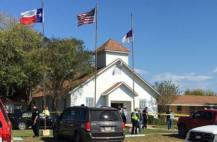 The Texas Church Shooting Was Eerily Foreshadowed in Mass Media