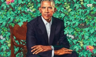 leadportrait Strange Facts About Obama's Portrait and its Painter Kehinde Wiley