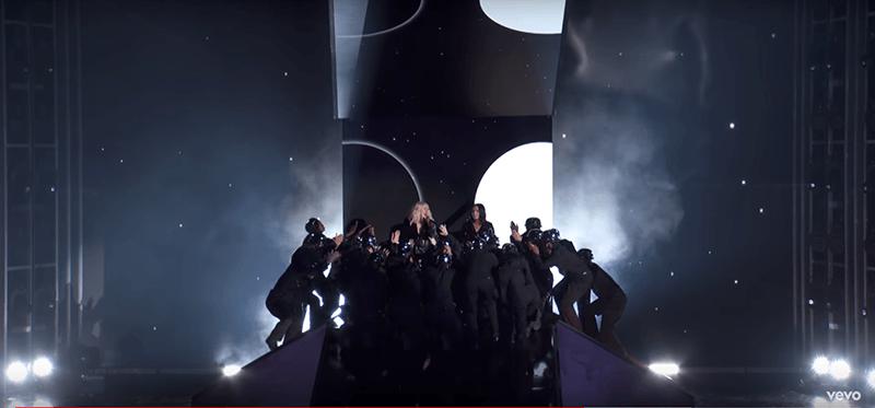 "billboard2 The Disturbing Hidden Meaning of Christina Aguilera's ""Fall in Line"""