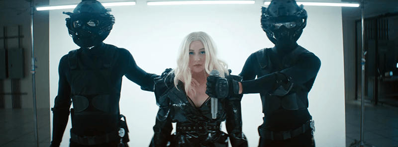 """fallinline5 The Disturbing Hidden Meaning of Christina Aguilera's """"Fall in Line"""""""