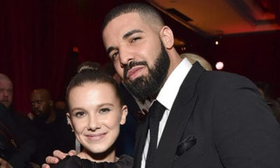 "Drake Accused of ""Grooming"" Millie Bobby Brown"