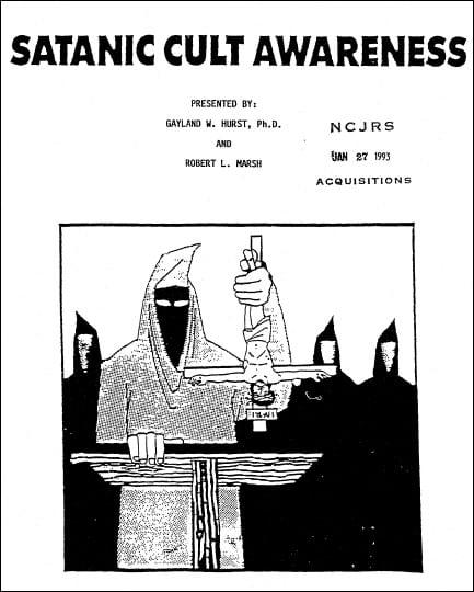 """Satanic Cult Awareness"" Training Guide"