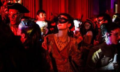 Inside UNICEF's Bizarre 2018 Masquerade Ball