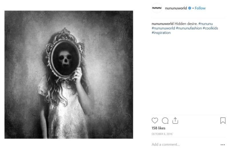 "2018 11 14 19 08 46 nununu @nununuworld • Instagram photos and videos e1542314838613 Something is Terribly Wrong With Céline Dion's ""Genderless"" Clothing Line"