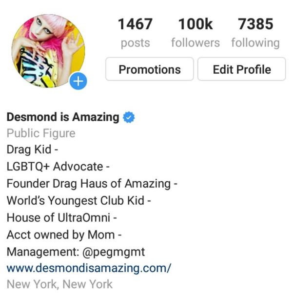 "The Exploitation of ""Drag Kid"" Desmond Is Amazing"
