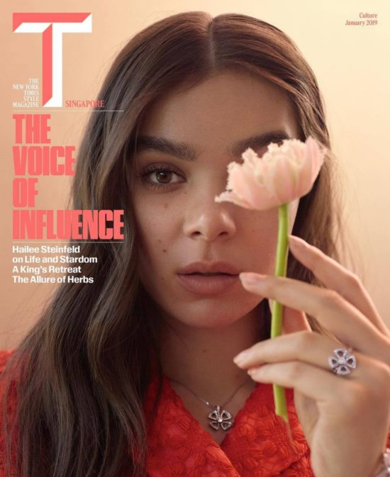 hailee steinfeld the new york times style magazine singapore january 2019 part ii 0 e1548116984314 Symbolic Pic of the Month 01/19