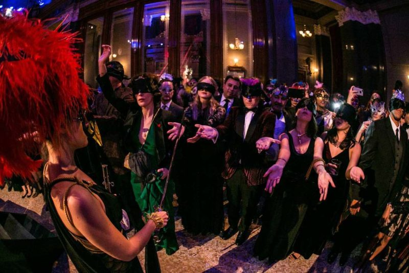 "Inside the Rothschild-Inspired ""Illuminati Ball"" New Year's Eve"