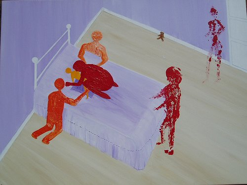 """""""What Ted Saw"""" The Complete Gallery of Kim Noble's Paintings About Ritual Abuse"""