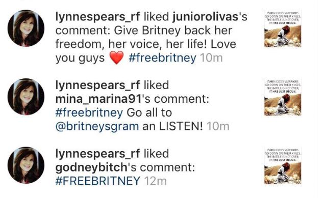 2019 04 18 17 15 47 Shay on Twitter LYNNE SPEARS JUST LIKED THESE She's asking people to go list #FreeBritney: Is Britney Spears Being Held at a Mental Health Facility Against Her Will for MKULTRA?