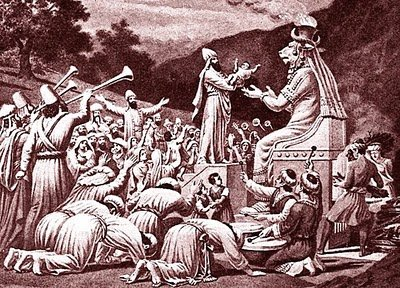 baal worship End of April: Still a Time of Fire and Human Sacrifice