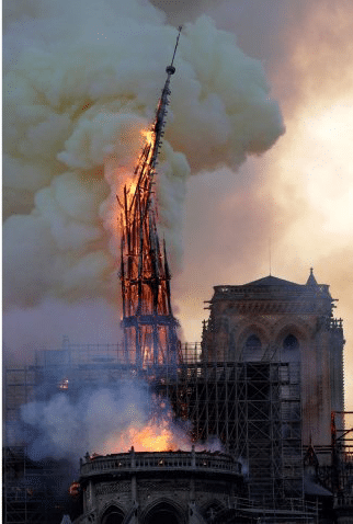 notredamespire End of April: Still a Time of Fire and Human Sacrifice