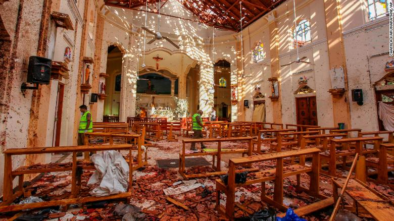 sri lanka blast End of April: Still a Time of Fire and Human Sacrifice