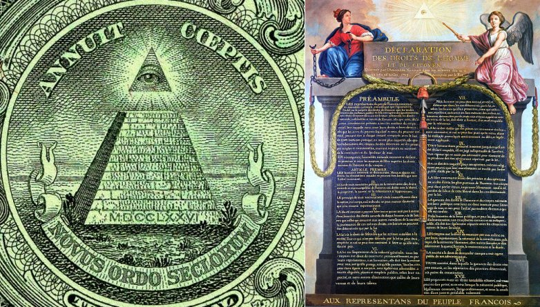 eyeofprovidence The One-Eye Sign: Its Origins and Occult Meaning