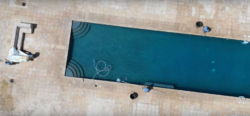 Strange Things Are Happening on Epstein Island: Drone Footage