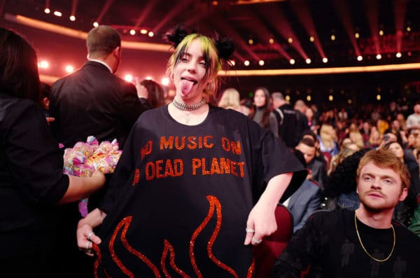 billie eilish 04 amas show 2019 billboard 1548 e1574784826744 The 2019 American Music Awards: It Was Hell. Literally.