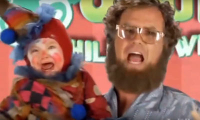 leadclown Will Ferrell's Comedy Skit About Child Trafficking is Disgusting (video)